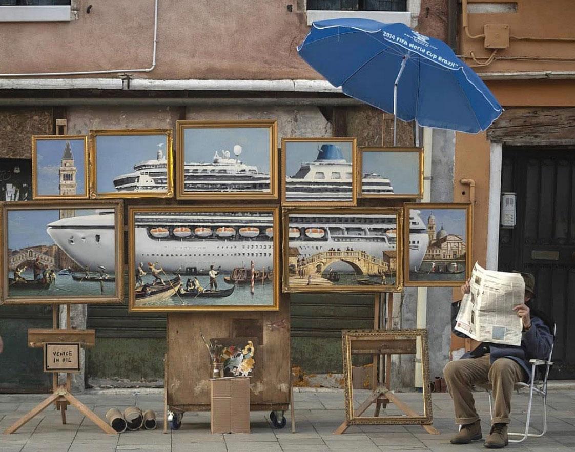 Banksy a Venezia?