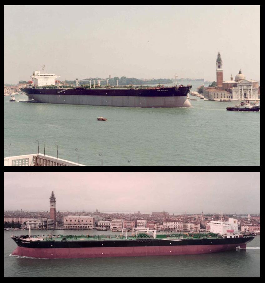 Si, lo so che è meglio per Venezia che le navi operassero solo fuori dalla laguna ma poi, sai, il lavoro che manca…