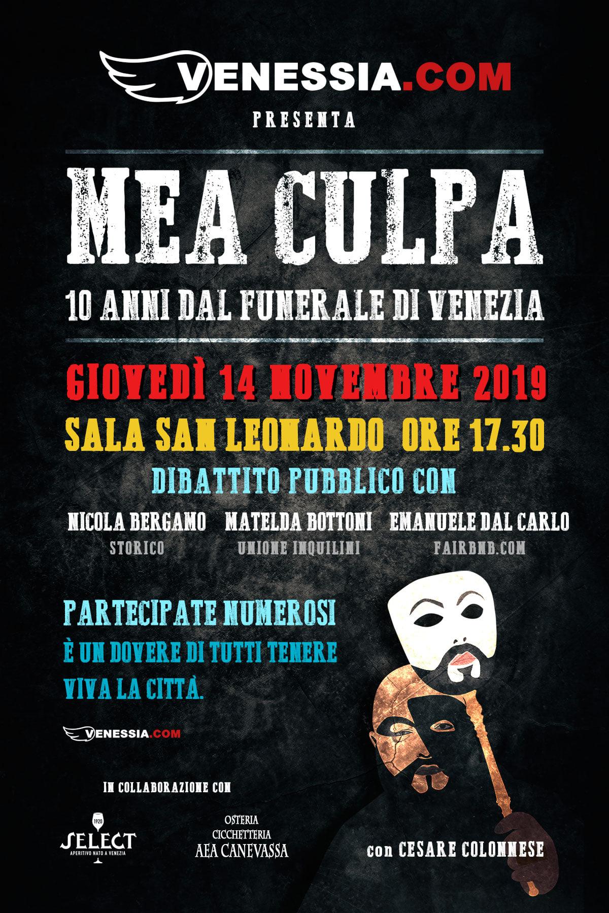 L'anniversario del funerale di Venezia